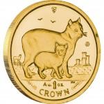 Gold Bullion Coin Manx Cat 2012 Cats Series - 1 oz