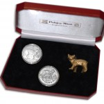 """Cats"" Series Two Silver Coin Set 1988, 2012"