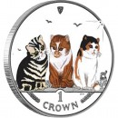 "Silver Colored Coin EXOTIC SHORTHAIR CAT 2006 ""Cats"" Series"