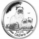 "Silver Coin HIMALAYAN CAT 2005 ""Cats"" Series"
