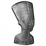 Silver Coin NEFERTITI BUST 2012, British Virgin Islands - 1oz