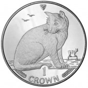 Silver Coin New York Alley Cat 1990 Cats Series - 1 oz