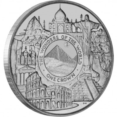 Silver Coin THE WONDERS OF THE MODERN WORLD 2008 - 1 oz
