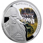 "Silver Coin NAPOLEON BONAPARTE 2010 ""Great Commanders"" Series"