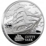 Silver Coin SHIP CUTTY SARK 2011 Sailing Ships Series