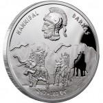 Серебряная монета ГАННИБАЛ БАРКА 2012 серии «Великие полководцы»