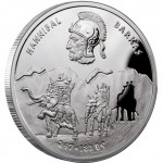 "Silver Coin HANNIBAL BARKAS 2012 ""Great Commanders"" Series"
