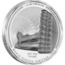 "Silver Coin WAT PHO THAILAND 2011 ""World Buddha Heritage"" Series"