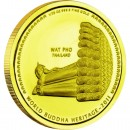 "Gold Coin WAT PHO THAILAND 2011 ""World Buddha Heritage"" Series - 1/25 oz"