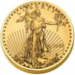 American Golden Eagle Gold Uncirculated Coin 2011 - 1oz
