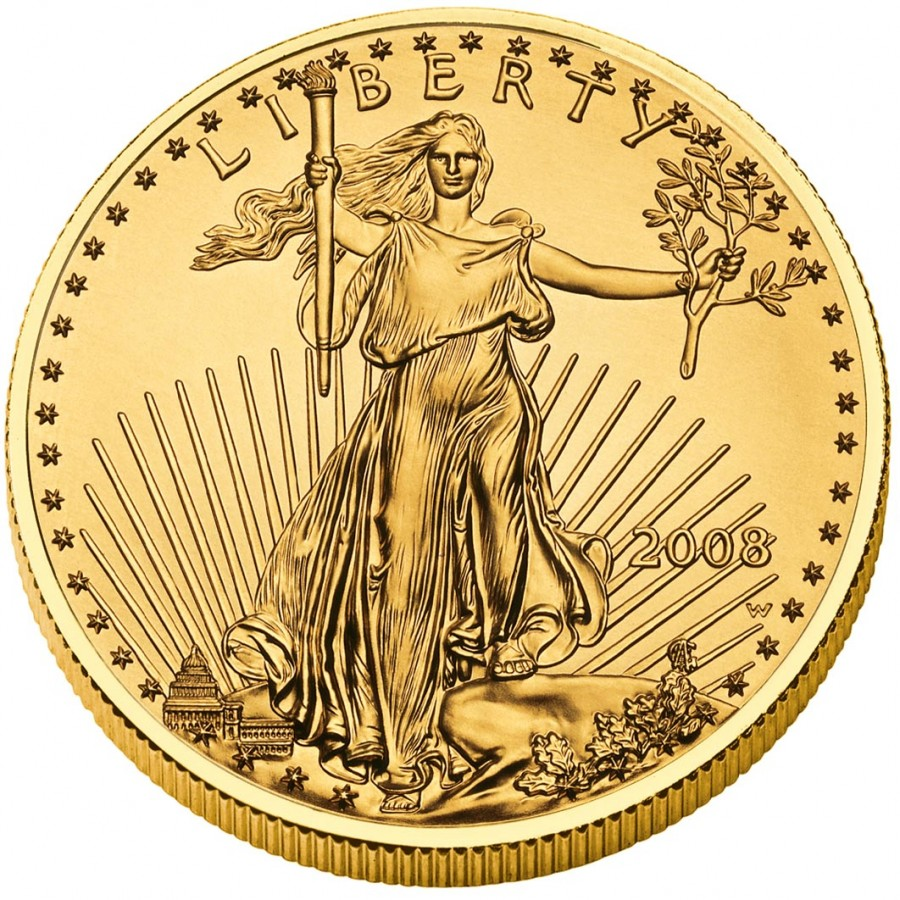 American Golden Eagle Gold Uncirculated Coin 2011 1oz