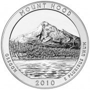 America the Beautiful Silver Coin – Mount Hood National Forest, Oregon 2010 - 5oz